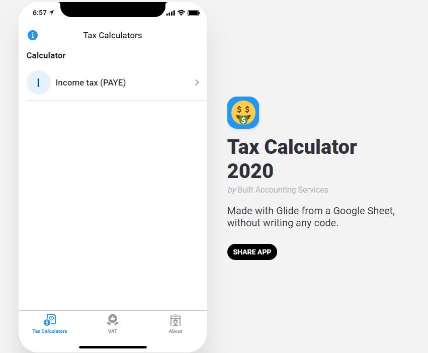 tax calculator ghana