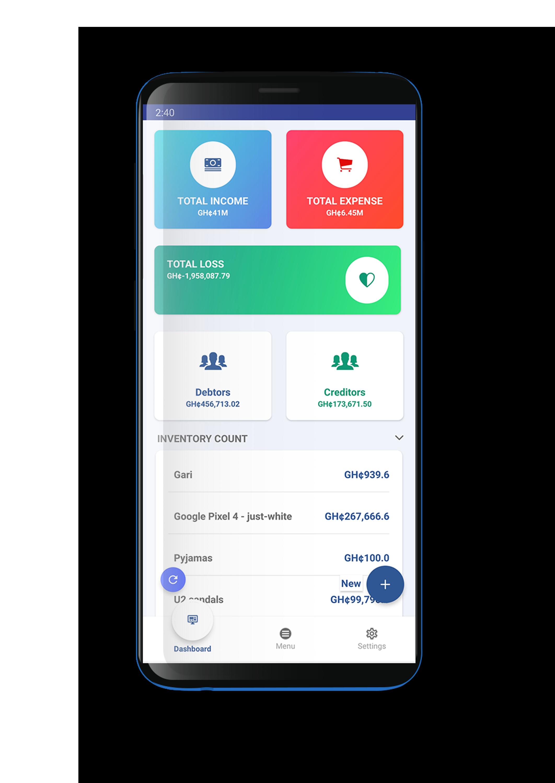built mobile app